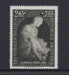 Argentina 1951 Eva Peron Foundation stamp. SG 833, Scott CB6. Mint never hinged.