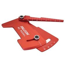 Red Color ALUMINUM Camber & Ride Height Gauge rc10gt tc5 L4 for 1/10 RC Car