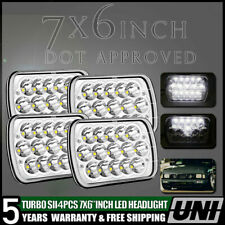 "4x 7X6 5X7"" H6054 SEALED BEAM LED HEADLIGHT FOR TOYOTA PICKUP TRUCK D21 HARDBODY"