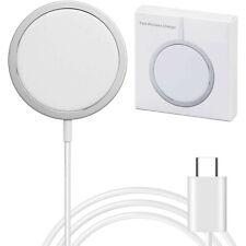 Magsafe Charger Ladegerät Magnetisch USB-C Ladestation Schnellader 15W iPhone 12