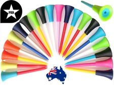 50 Top Quality Golf Tees Durable Plastic & Non-Slip Rubber 83mm FastFree POSTAGE