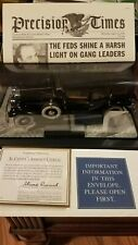 New ListingFranklin Mint Al Capone 1930 Cadillac in display 1:24