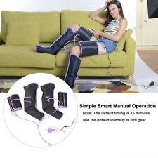 Air Compression Leg Massager Electric Circulation Leg Wraps For Foot Ankles Calf