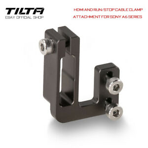 Tilta HDMI and Run/Stop Cable Clamp Attachment Kabelklemme für die Sony a6-Serie