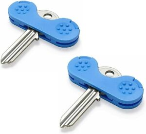 Keywing - Blue - Key Turning Aid for Limited/Low Grip or Strength Set of 2