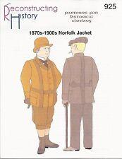Schnittmuster RH 925: 1880s - 1900s Norfolk Jacket