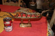 Vintage Thai Supannahong Candle Holder Serpent Boat Design-Holds 5 Candles