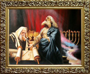 """Oil Painting PRINTED on Canvas Arseni ~ PROPHETS 26,3"""" X 20"""" NO FRAME Art Artist"""