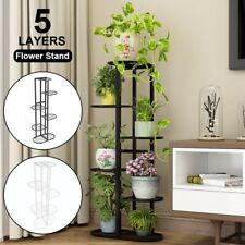 More details for 6 tier 7 pot flower plant stand display shelf garden rack holder storage indoor