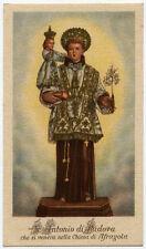 "santino-holy card""S.ANTONIO DA PADOVA-AFRAGOLA"