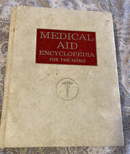 1978 MEDICAL AID ENCYCLOPEDIA For The Home BOOK ~ Hidden Documents Found Inside!
