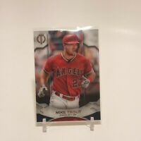 2019 Topps Tribute Mike Trout #1 L.A. Angels MVP