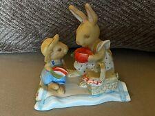 Tiny Talk Four Seasons Figurine Designers Collection Summer Season bunny rabbit