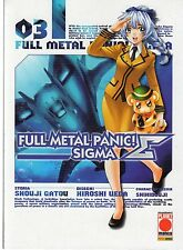 PLANET MANGA FULL METAL PANIC! SIGMA NUMERO 03