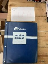 Fiat Allis 21 B Crawler Tractor Dozer Service Shop Repair Manual Part Catalog