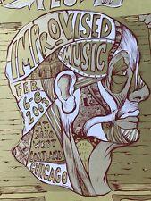 S/N Music Festival Poster Dan Grzeca Jay Ryan Phish EMEK Pearl Jam 311