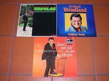 """12"" - LP-Sammlung - GERHARD WENDLAND - 3 LPs - near MINT !!!"