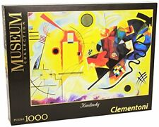 Clementoni - 39195 - Museum Collection Puzzle - Kandisky, Giallo Rosso e (y5x)