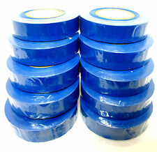 Blue Insulating  Insulation Electrical Tape 19mm (w)  x 20m  Pack of 10 AD003 BL