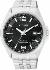 Stainless Steel Case 12-Hour Dial Wristwatches for Men