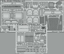 Eduard PE 1/35 conjunto de detalle para Hobbyboss Land Rover Defender 110 #82448 Hardtop