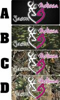 Personalized Monogrammed Custom Browning Aluminum License Plate 6 x 12 HUNTING