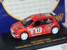 Fiat Punto S1600  rally Catalunya 2001  1/43 Rally Car
