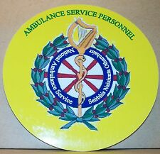 Ambulance Service Personnel Southern Ireland  vinyl sticker.