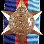 GENUINE WW2 ANZAC AUSTRALIA BRITISH 1939-45 SERVICE STAR MEDAL ORDER