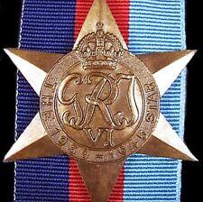 GENUINE WW2 ANZAC AUSTRALIA BRITISH 1939-45 SERVICE STAR MEDAL ORDER        -01