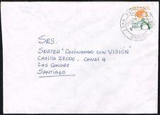 2974 CHILE COVER 1992 ECOLOGY ENVIRONMENT SAN ANTONIO-2 - SANTIAGO-27