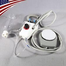 Portable Dental Air Turbine Unit Work with Compressor Handpiece Adapter 2/4 Hole
