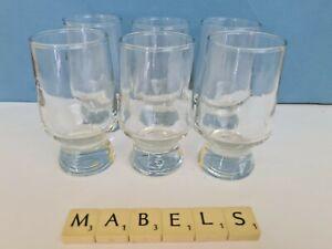 RAVENHEAD ~ANNETTE MEECH - APOLLO ~ schnapps port sherry glasses x 6