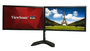 Matching Dual 24 Inch Viewsonic VG2439smh Monitor w/Heavy Duty Stand &Dock HDMI