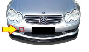 MERCEDES BENZ MB SL R230 FRONT BUMPER TOW HOOK EYE COVER PRIMED GENUINE