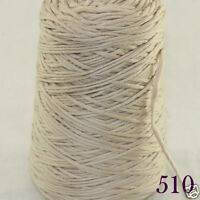 Sale New 1 Cone 400g Soft Worsted Cotton Chunky Super Bulky Hand Knitting Yarn C