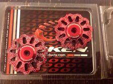 TOKEN TK1730 Rear Derailleur Jockey wheel  Pulley 11T Shimano SRAM 9/10s Red