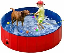Pet Swimming Pool Portable Foldable, Dogs Bathing Tub, Kiddie Pools for Kids
