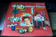 ELVIS PRESLEY ORIGINAL RECORD ALBUM ELVIS' CHRISTMAS ALBUM NEAR MINT LOC 1035