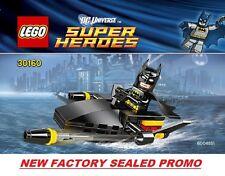 LEGO COMIC Super Heroes DC UNIVERSE Batman minifig Jetski 30160 new promo poly @