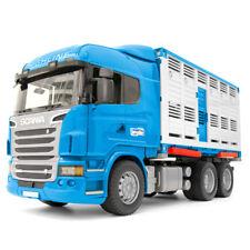 BRUDER Scania Serie R transporte de animales Camión con RES JUGUETES NIÑOS