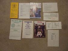 official club shop souvenir list glasgow rangers 1991/2