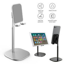 Aluminum Cell Phone Holder Tablet Desk Stand For iPad iPhone 11 Pro Max Samsung