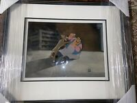 LADY AND THE TRAMP - hand painted ANIMATION CEL - with COA - TONY and The Tramp