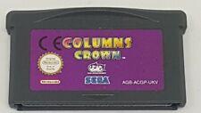 Columns Crown game Boy Advance Game Nintendo  FAST FREE POST