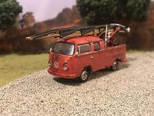 Volkswagen Ladder Truck Rusty Weathered Barn Find Custom 1/64 Diecast Rust VW
