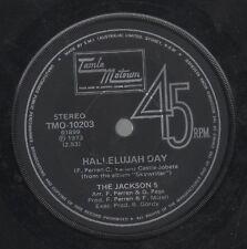 "THE JACKSONS   Rare 1973 Australian Only 7"" OOP Motown Single ""Hallelujah Day"""