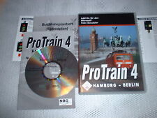 PROTRAIN 4 HAMBURG - BERLIN ~ MICROSOFT TRAIN SIMULATOR ADD-ON