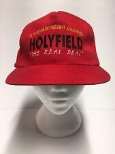 Vintage Evander Holyfield boxing snapback hat