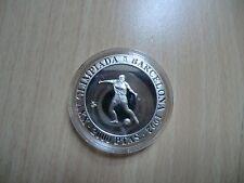 Spanien, 2000 Peseten 1990, Olympia Barcelona, Silber, Logo, PP
